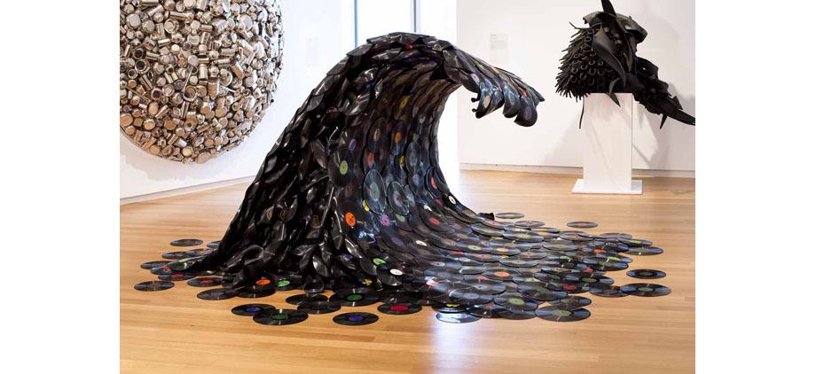amazing art made from recycled materials