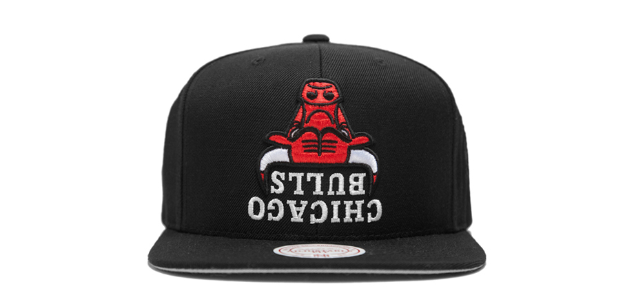 9ec15f6fb3382 Hall Of Fame x Mitchell   Ness - Upside Down NBA Collection