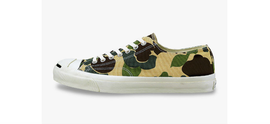 43ef06c1028 Converse Jack Purcell HS 83Camo. Green Label ...