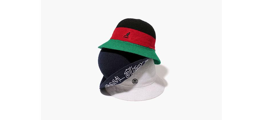 8c9fbbde1c858 Stussy x Kangol Bermuda Casual Bucket Hats