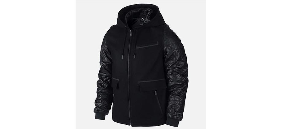 Jordan leather jacket
