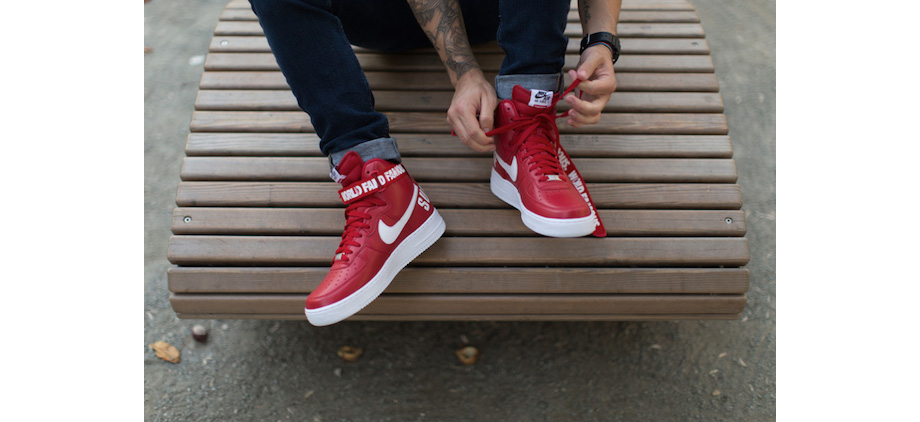 nike air force 1 hi top albi