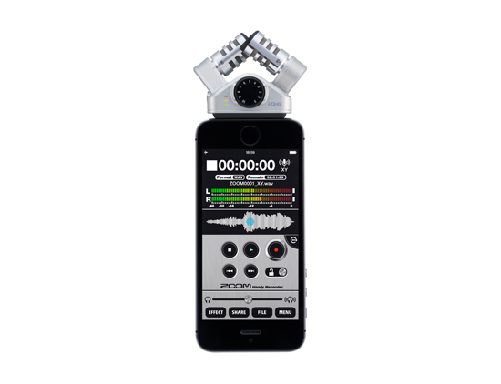 zoom iq6 stereo mic