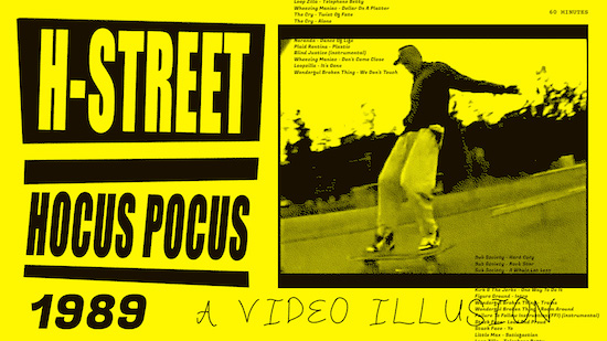 best skate soundtracks H Street Hokus Pokus