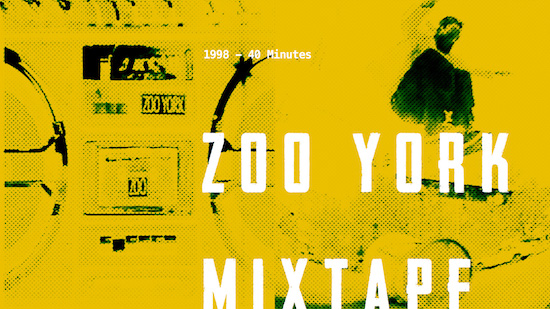 Best Skateboarding Soundtracks, Zoo York Mixtape