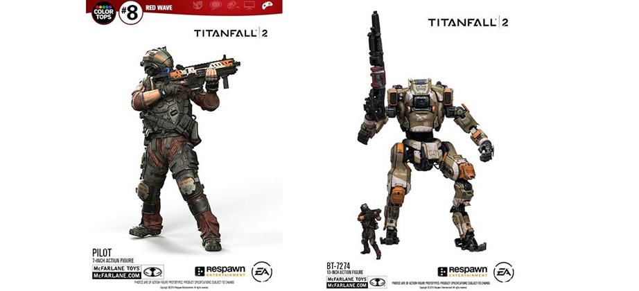 Titanfall 2 Titan 10-in Deluxe Figures