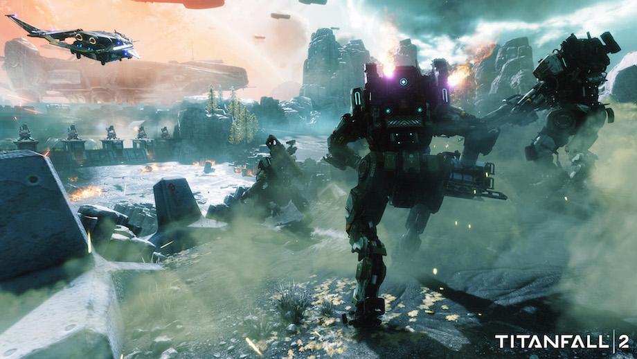 Titanfall 2 pro gamers