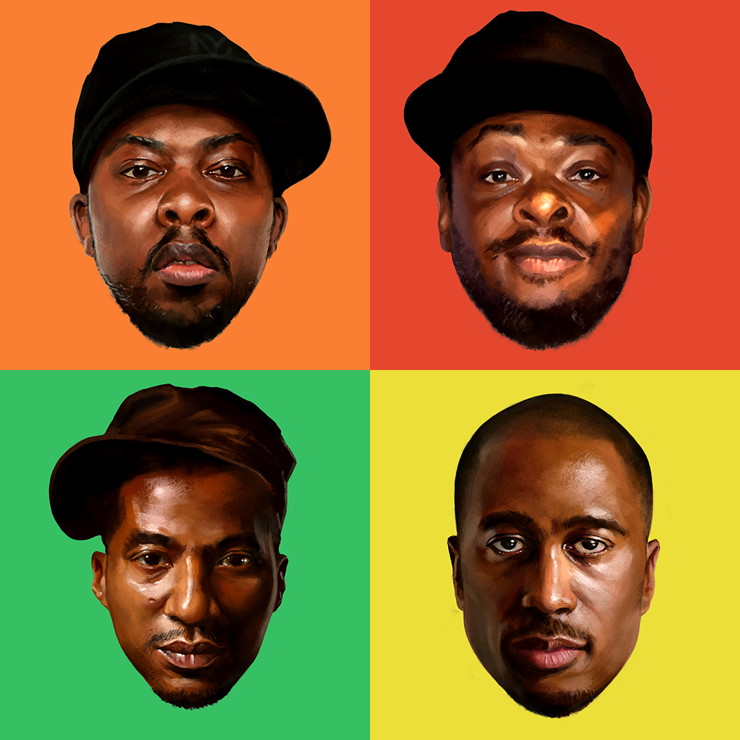 A Tribe Called Quest - New School