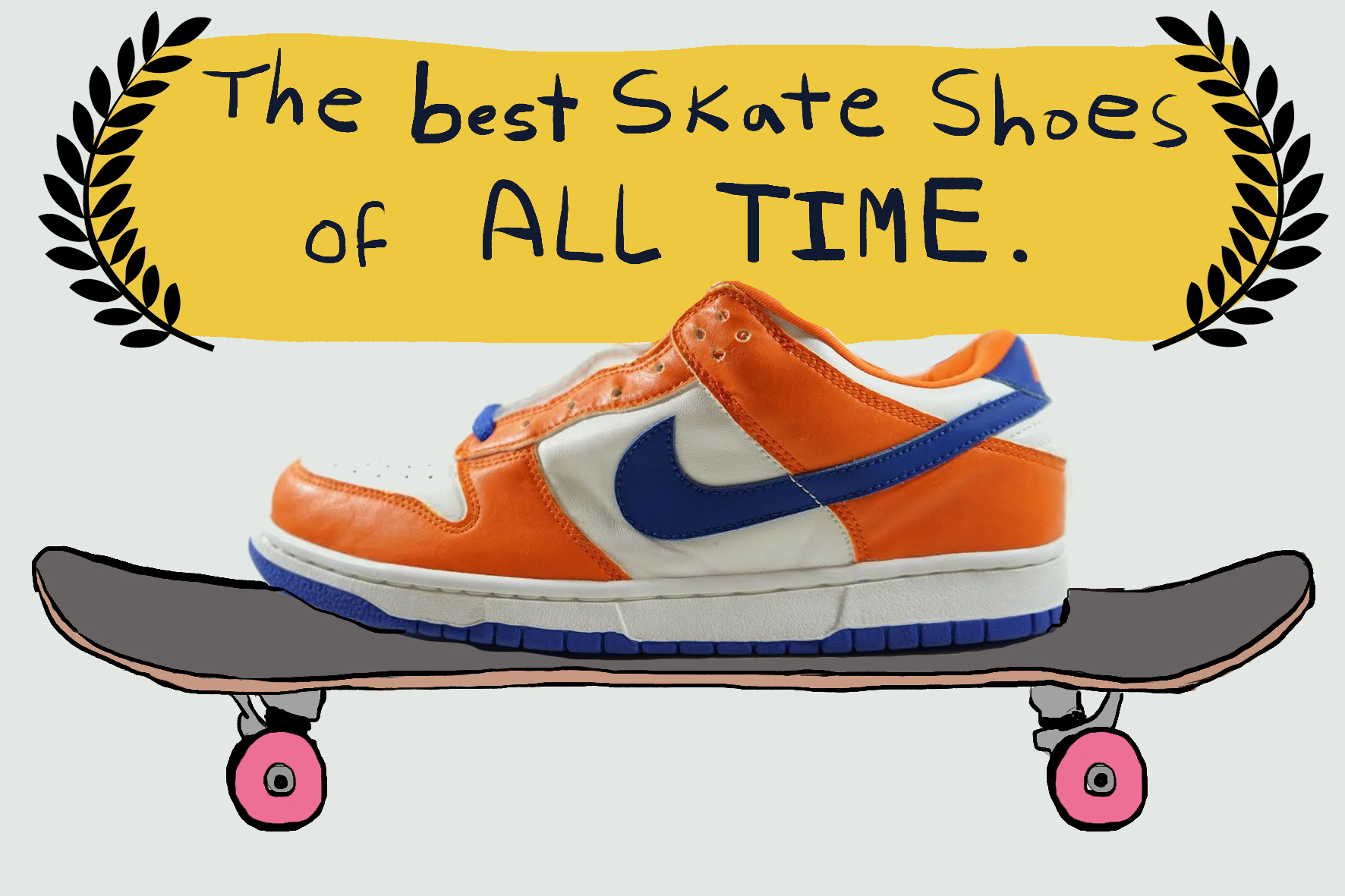 The 10 Best Shoes For Skateboarding, Ever | Green Label