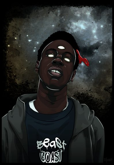 joey badass fan art